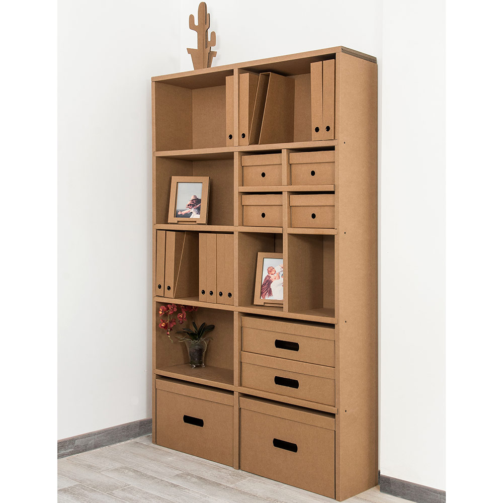 Estanter a cart n triple timbrados san jos - Muebles en carton ...